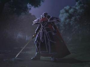 The Black Knight. Not to be confused with that chap from the Holy Grail